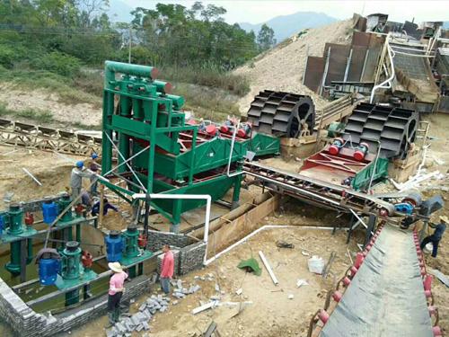 大型水洗砂生产线